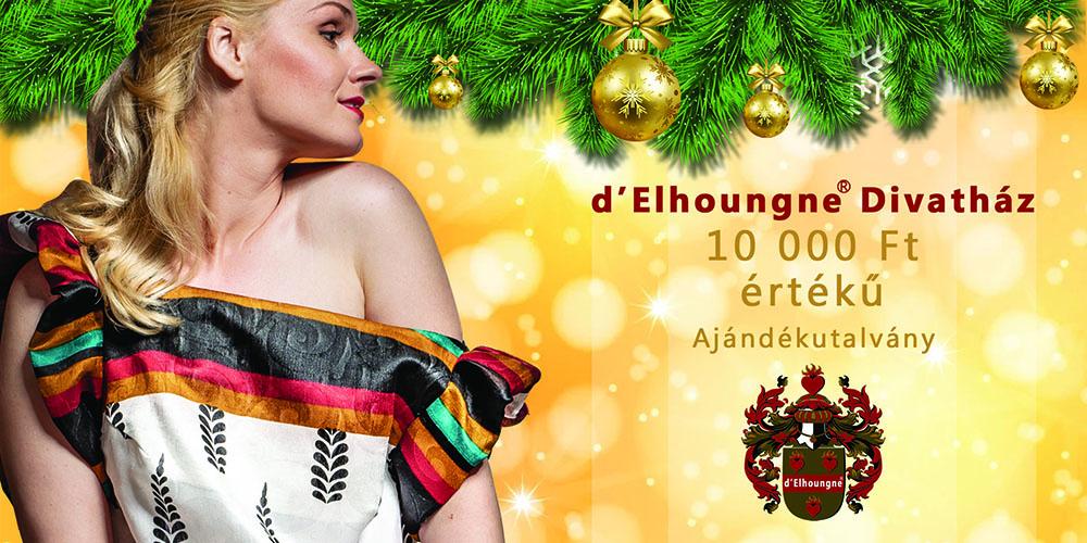 d'Elhoungne 10000 Ft-os ajándékutalvány