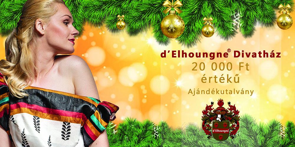 d'Elhoungne 20000 Ft-os ajándékutalvány